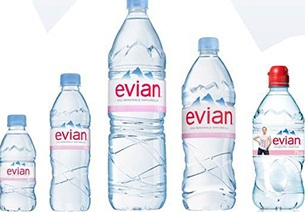 Evian Mineral Water from FRANCE