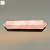 Natural jewelry making gemstone 42x12mm healing crystal faceted stone pencil pointed rose quartz points
