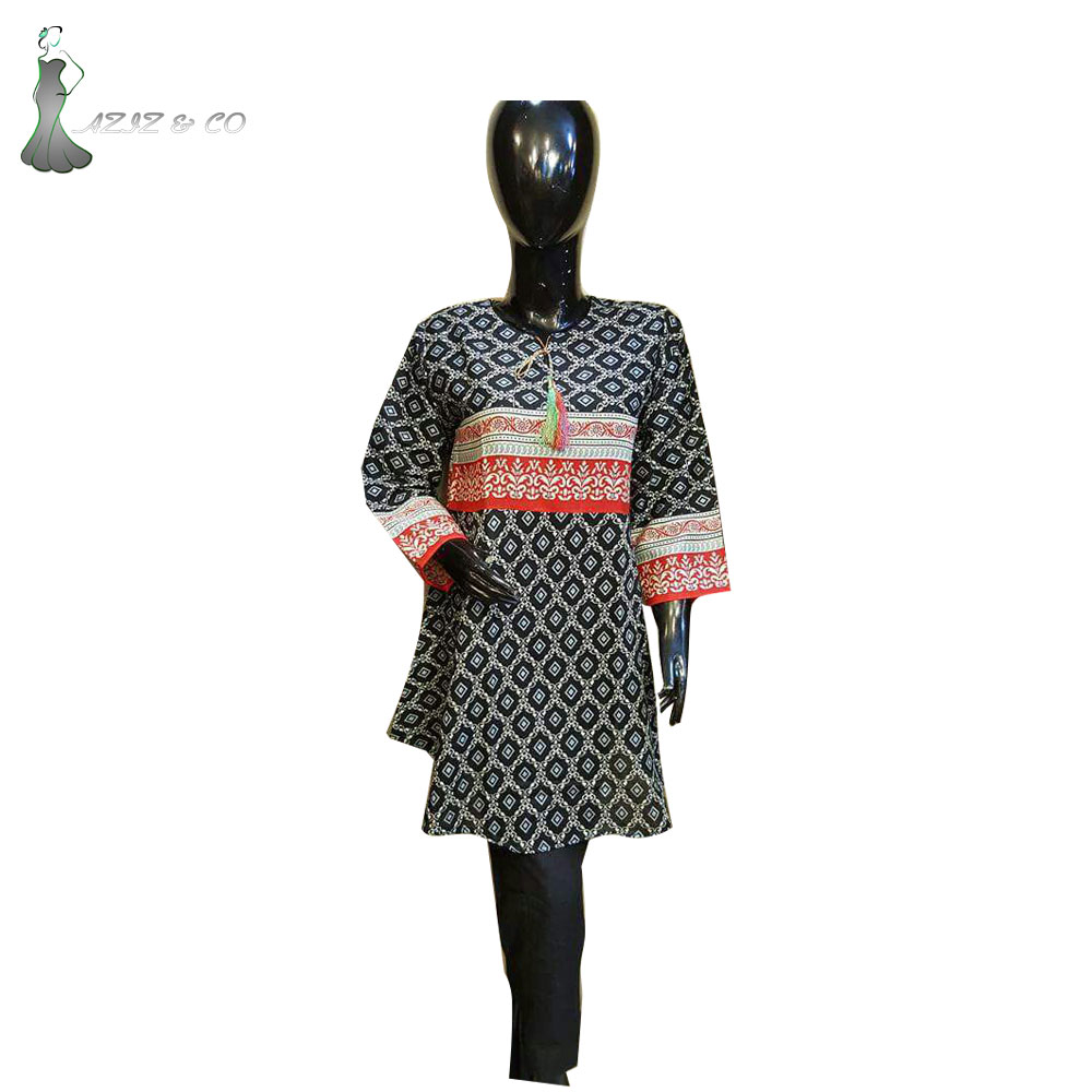 Frock Style Best Dress For Girls\Stitched Dress