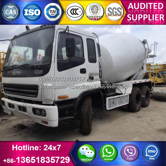 Excellent condition japan cement truck isuzu, used isuzu concrete truck