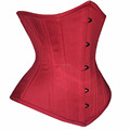 red Cotton Underbust Corsets in waist training Short extended curvy regular black purple nude Color