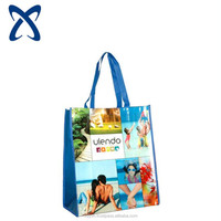 vietnam cheap high quanlity custom printed reusable woven pp bags for shopping