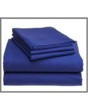 Plain Blue Color Hospital Bed Sheet
