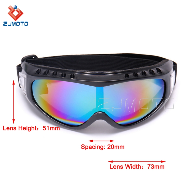 Custom Ski Snowboard Goggles Motorcycle Racing Ski Goggles Eye Protection Sunglasses