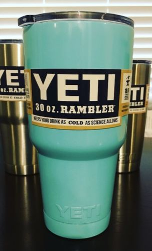ALL NEW Yetis Rambler Produt Tumbler 30oz- Powder Coated Cup