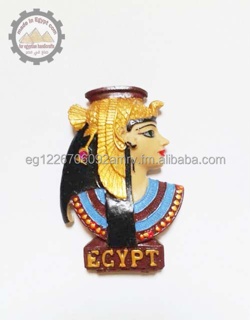 Egypt cleopatra 3d Fridge Magnets - Hand Painted - M0042