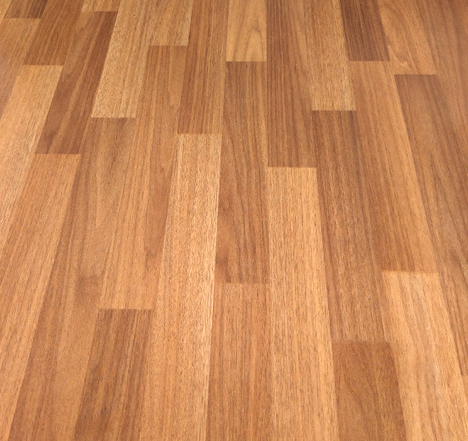 Wood Plank Sheet Flooring - Very strong wear layer that gives the protection that is needed in high foot traffic area