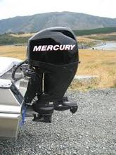 USED FREE SHIPPING Mercury 40HP Jet Outboard Motor Jet Four Stroke
