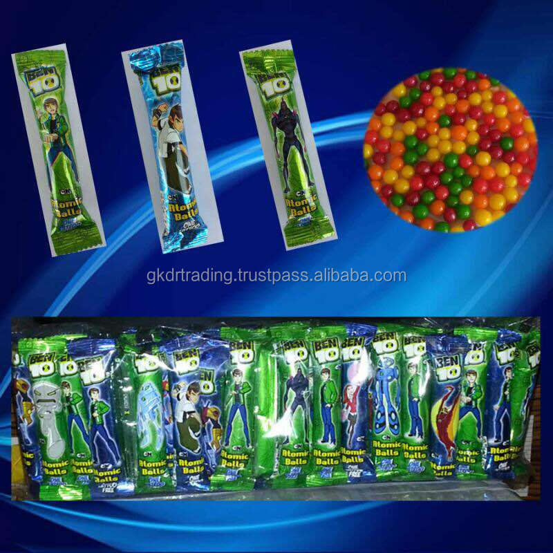 BEN 10 PANNED CANDY IN PIPE