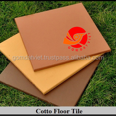 Hot Selling Brick clay tile from Vietnam terracotta install 300x300 square for garden outside