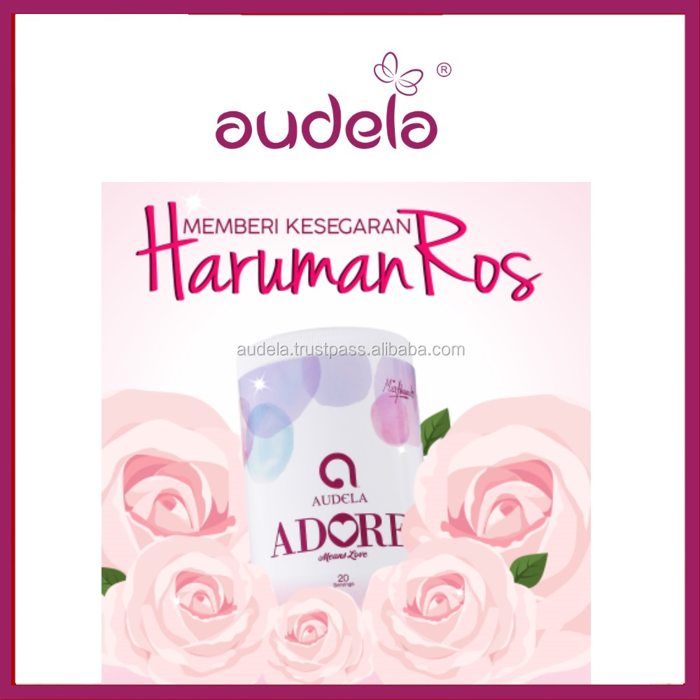 Healthy Audela Adore Organic Drink rose water
