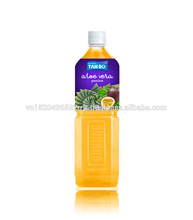 Passion Fruit Flavored Aloe Vera Drink - 500ml PET bottle - Vietnam Beverage Manufacturer