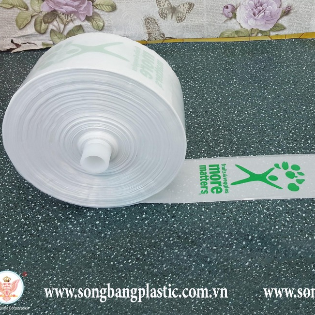 Plastic Bags for Shopping in Rolls Cheap with photo Printing on Request