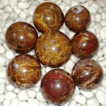 Indian Agate Jasper Ball and Sphere