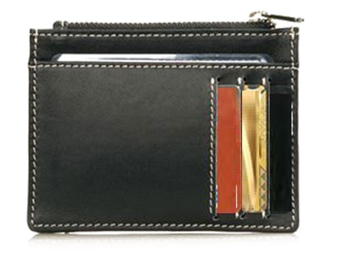 Two Sided PU Leather Professional Card Case