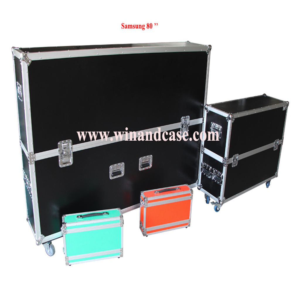 LED 80'' case, Aluminium TV LED case, Flight case with factory price