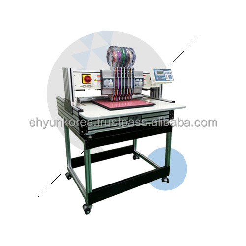 Korean Automatic Hotfix Spangle Motif Making Machine