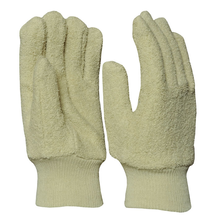 Cotton Terrey Mitten Gloves