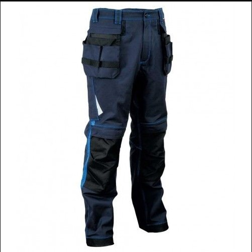 High Quality Trousers Navy Trousers Mens Workwear /Cheap 10 pockets cargo pants