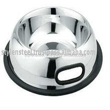 Anti Skid Bowl (Belly) (with 2 Grip Handle) / Dog Bowl