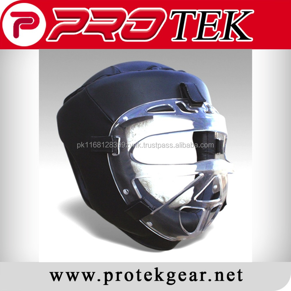 Pakistan High Level Supplier Sports Safety Protector / Karate Head Gear