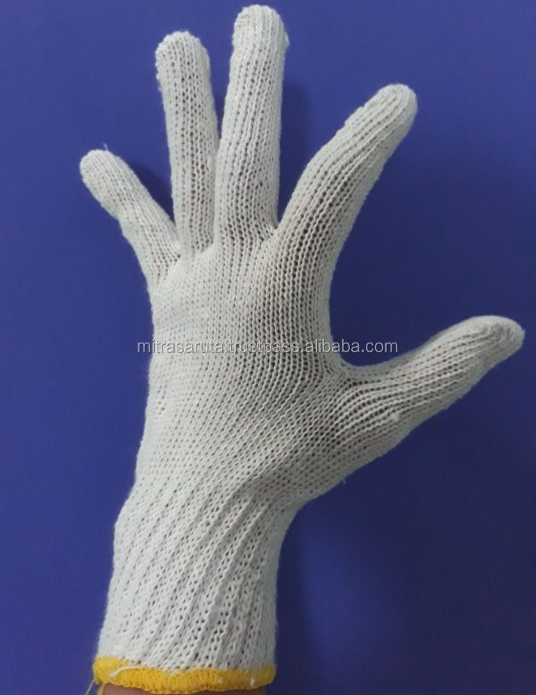 New year sale Cotton Glove for mechanic or automotive work