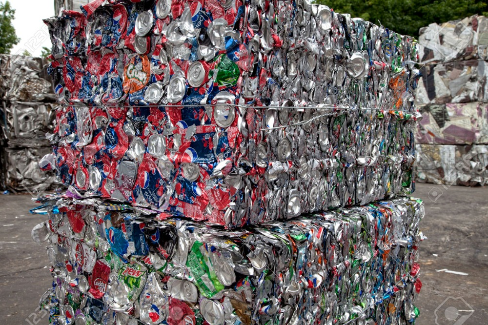 High purity Aluminum UBC Can Scrap (UBC Scrap) in Grade A Bales Aluminum UBC