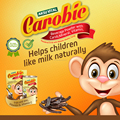 Baby Milk Formula CAROBIC Carob Powder Milk Shake Drink for Kids Children