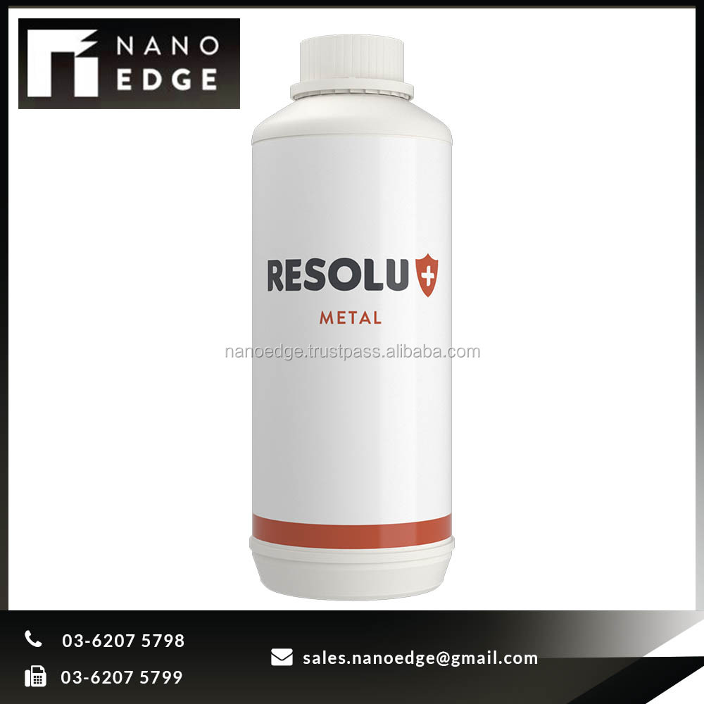 RESOLU+ METAL Rust Protection hydrophobic oleophobic coating