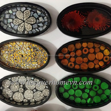 Direct Supply from Vietnam seashell lacquered soap dish