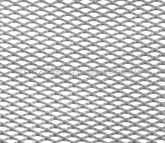 Expanded Metal Mesh for Filters, Facades, Suspended Ceilings Huge Production Capacity Turkey (Customized)