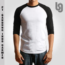 Custom Organic Cotton 3/4 Sleeves Raglan T Shirt | Cheap | Wholesale