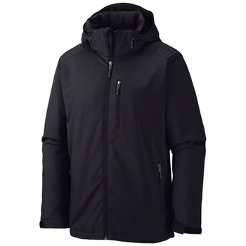 Black Soft Shell Jacket Hoodie for Men 2019