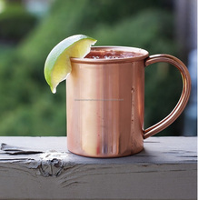 High Quality Manufacturer Custom Moscow Mule Solid Copper Drinking Mug