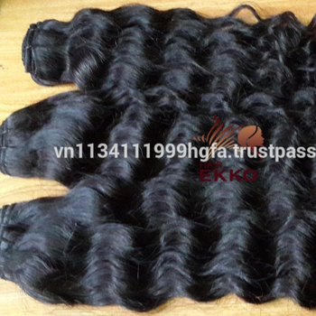 Very beautiful natural virgin body wavy human hair weaving machine weft hair for extension 4 bundles/lot