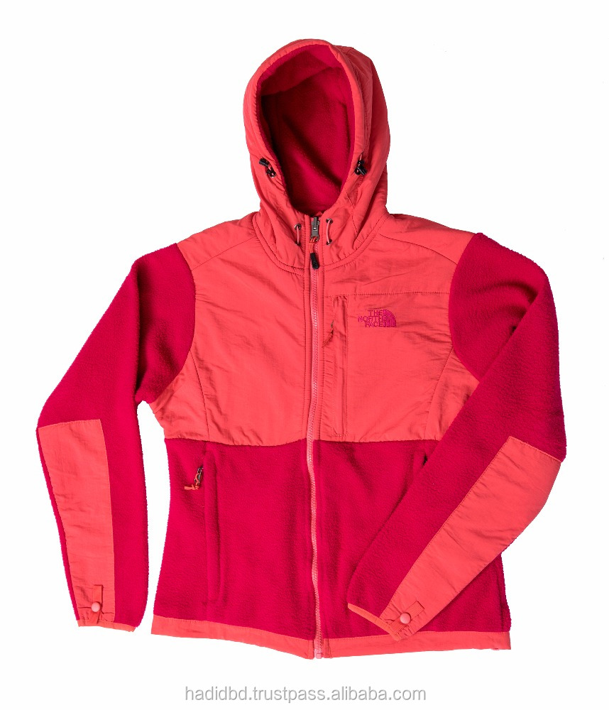 Bangladesh Stock Lot/Shipment Cancel Export Quality Ladies/Women Jacket with Hood and without Hood