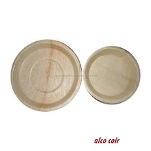Selling disposable party Round Shaped areca leaf plates
