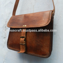 Real leather cross body messenger bags for men from venus crafts india