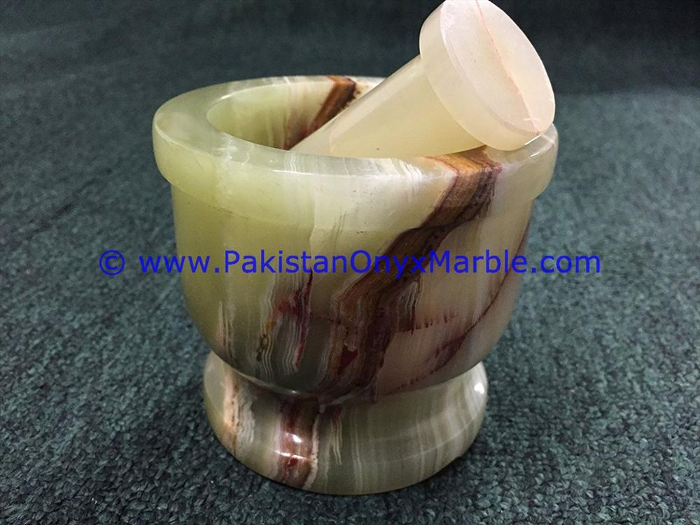PAKISTAN SUPPLIER WHOLESALE ONYX MORTAR PESTLE GREEN ONYX CRUSHING GRINDING