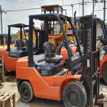 Toyota 8FD30 Forklift Located in Shanghai Hot Sale Used 3T capacity Toyota Forklift