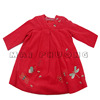Cute hand embroidered bishop dress for baby