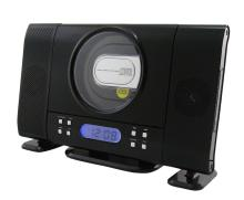 CT-701 di Alta Qualità Display LCD Con Retroilluminazione Blu FM Radio Con Due Staccabile Altoparlanti Verticale Lettore <span class=keywords><strong>CD</strong></span> Radio