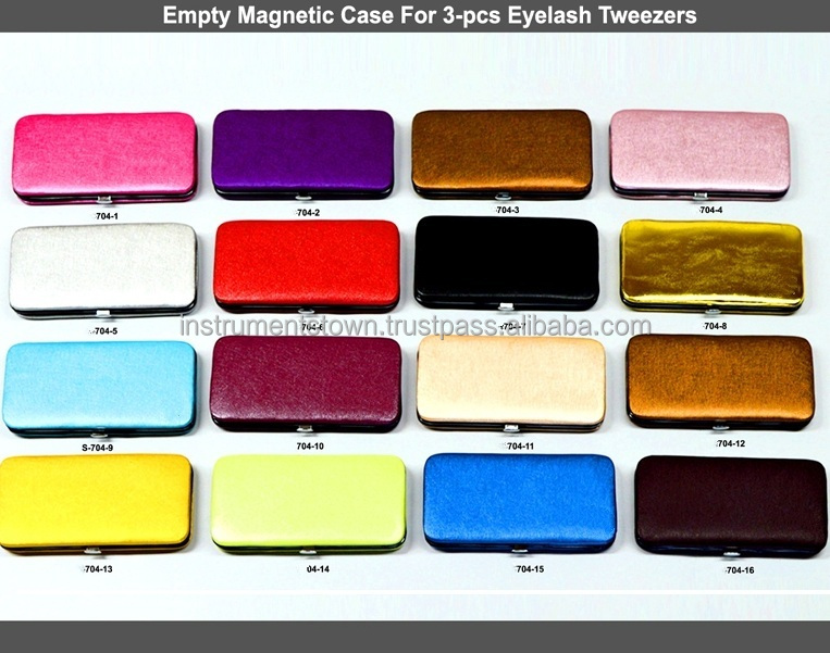 Magnetic kit Packing for Tweezers in best prices with Free Custom logo/ magnetic case for tweezers