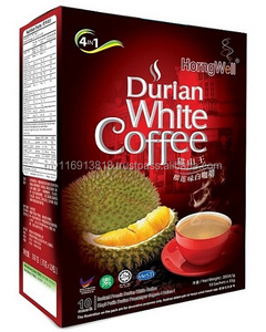 4 In 1 Rich and Strong Musang King Instant Durian White Coffee