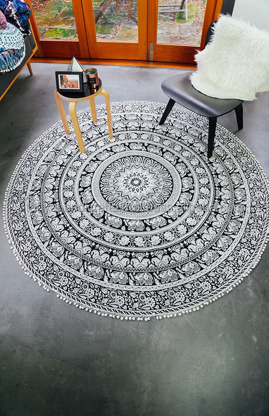 20 pieces wholesale indian mandala round bohemian decor beach throw hippie