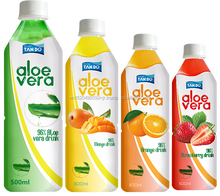 Aloe vera drink adding Natural Fruit Juice, Aloe vera