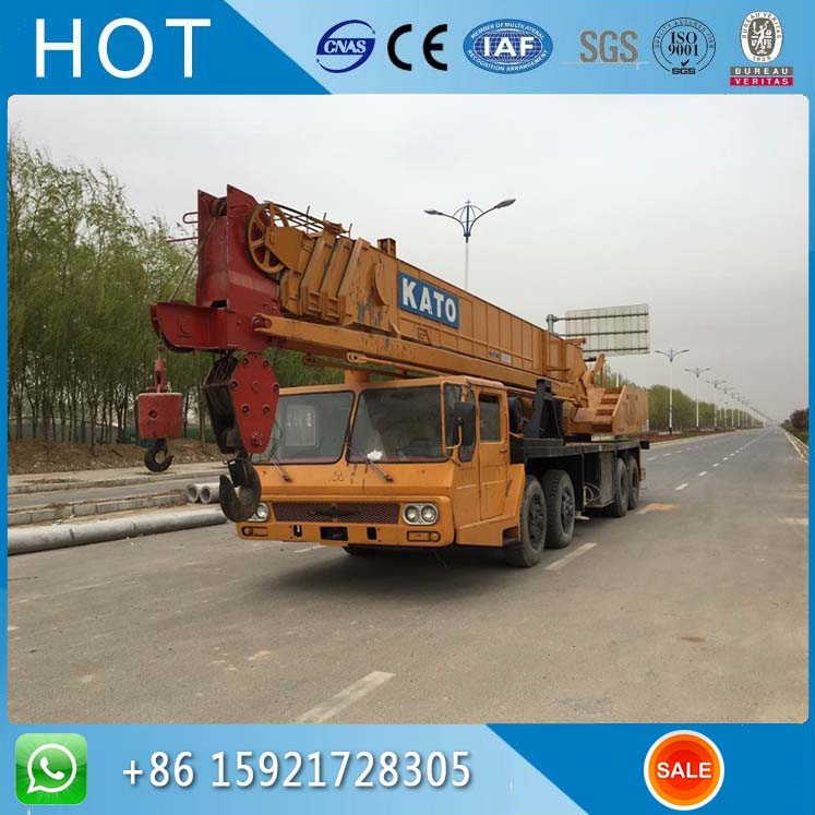NK500E-V 50 Ton Heavy Equipment Used Kato Mobile Crane With Hydraulic System