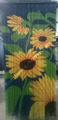 Handmade beads for door, window sunflower