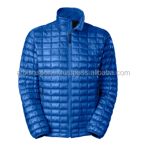 100% Polyester Men Casual Warm Down Jacket Winter Coat