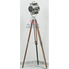 Antique Spot Light, Nautical Floor Searchlight With Tripod Stand